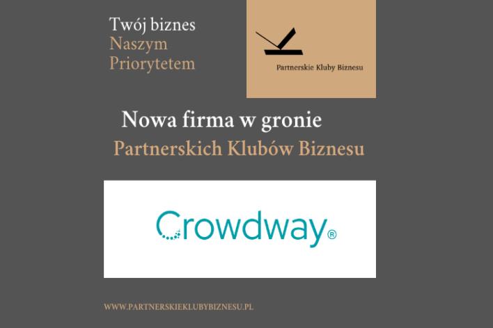 Crowdway członkiem Partnerskich Klubów Biznesu