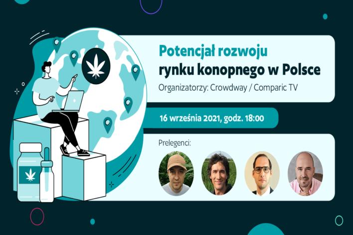 Jaka jest przyszłość branży konopnej w Polsce? Debata Crowdway i Comparic