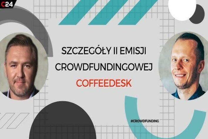 CrowdTalks #39 – Coffeedesk wierzy w społeczność i chce dzielić się z nią swoim sukcesem